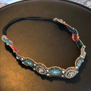 ANTHROPOLOGIE BEADED HEAD BAND